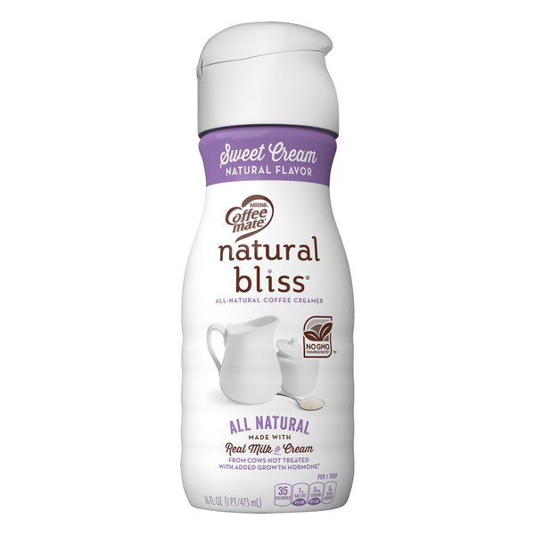 Nestle Coffee-mate Natural Bliss Coffee Creamer Sweet Cream