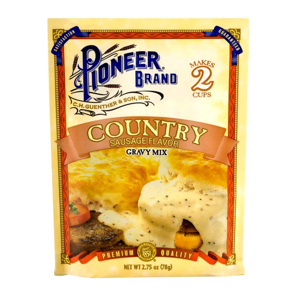 Pioneer Brand Country Sausage Flavor Gravy Mix Packet