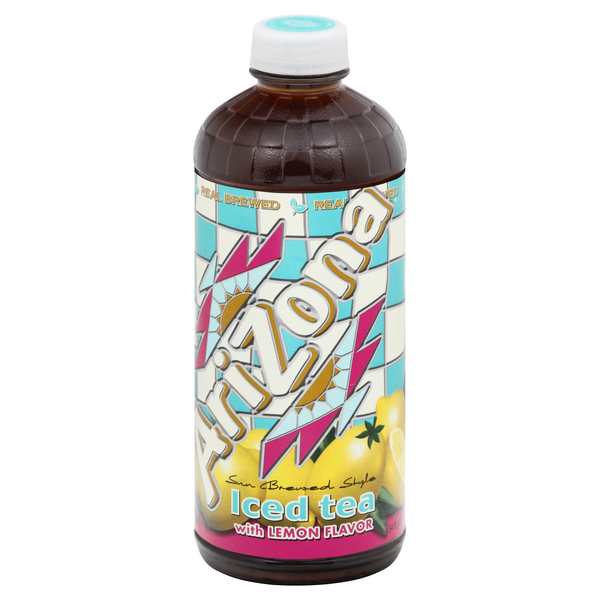 AriZona Iced Tea with Lemon Flavor