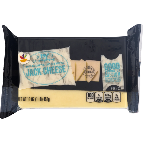 Stop & Shop Monterey Jack Cheese Chunk Natural
