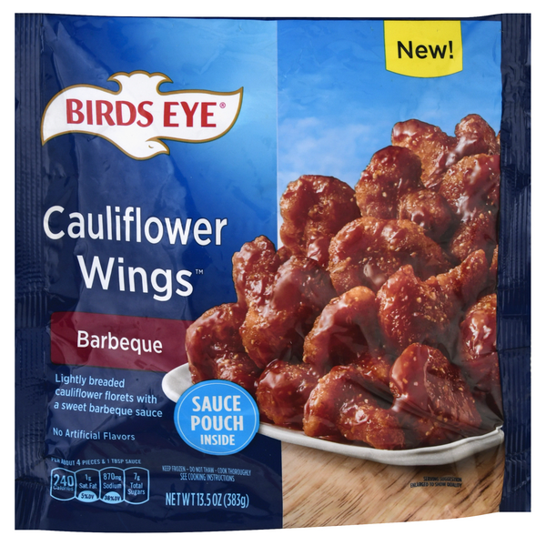 Birds Eye Cauliflower Wings Barbeque