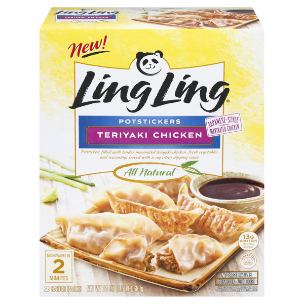 Ling Ling Potstickers Teriyaki Chicken