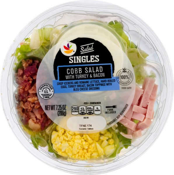 GIANT Salad Singles Cobb Salad with Turkey & Bacon