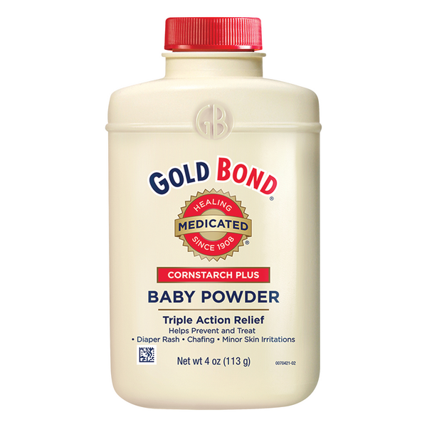 Gold Bond Medicated Cornstarch Plus Baby Powder