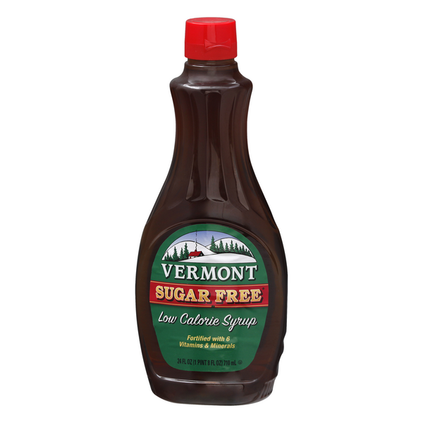 Vermont Syrup Sugar Free Low Calorie