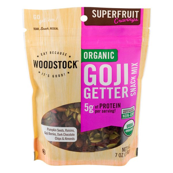 Woodstock Organic Goji Getter Snack Mix