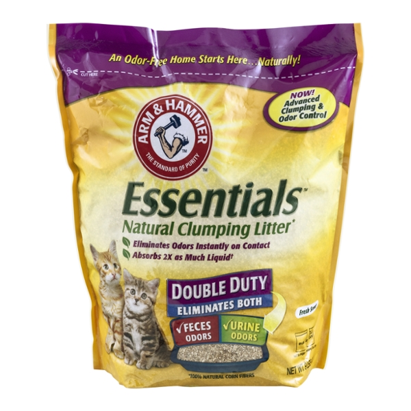 Arm & Hammer Essentials Clumping Cat Litter Natural