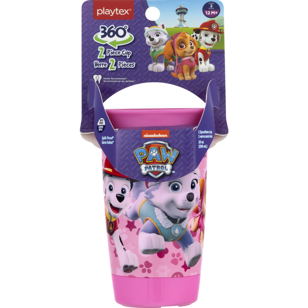 Playtex Spoutless Cup Piece 360 Degrees Spill-Proof Paw Patrol Stage 2