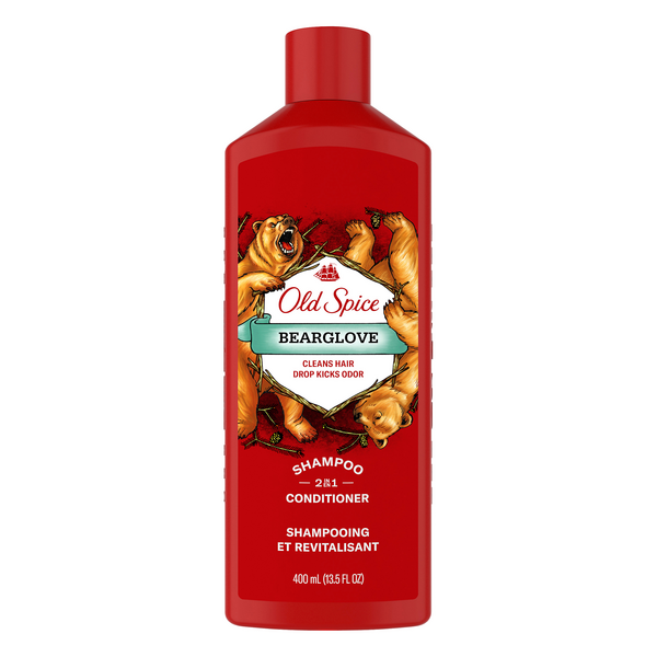 Old Spice Bearglove 2 in 1 Shampoo & Conditioner