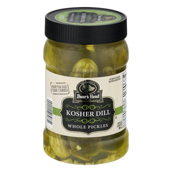 Boar's Head Pickles Kosher Dill Whole