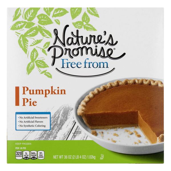 Nature's Promise Free from Pumpkin Pie Frozen