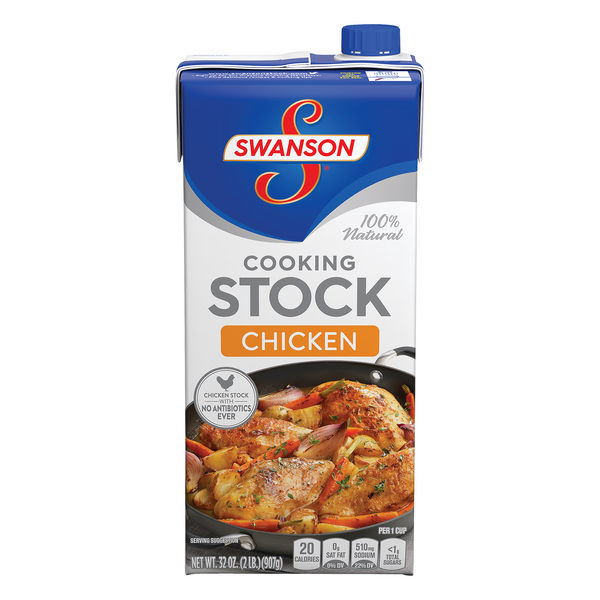 Swanson Cooking Stock Chicken 100% Natural