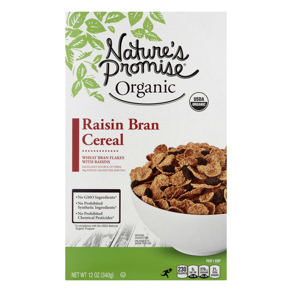 Nature's Promise Cereal Raisin Bran Organic