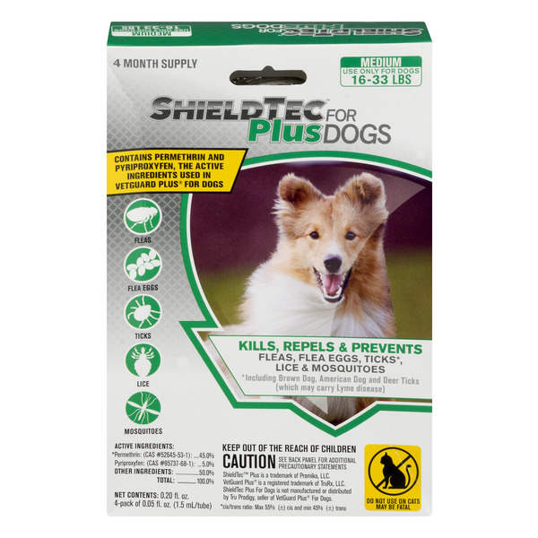 Shield Tec For Plus Dogs 4 Month Supply Medium