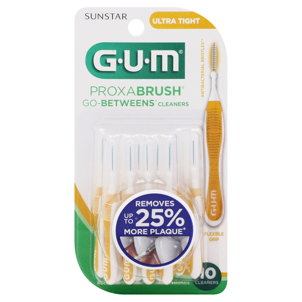 GUM Proxabrush Go-Betweens Cleaners Ultra Tight