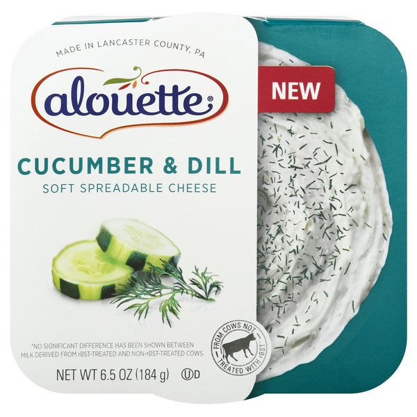Alouette Soft Spreadable Cheese Cucumber & Dill