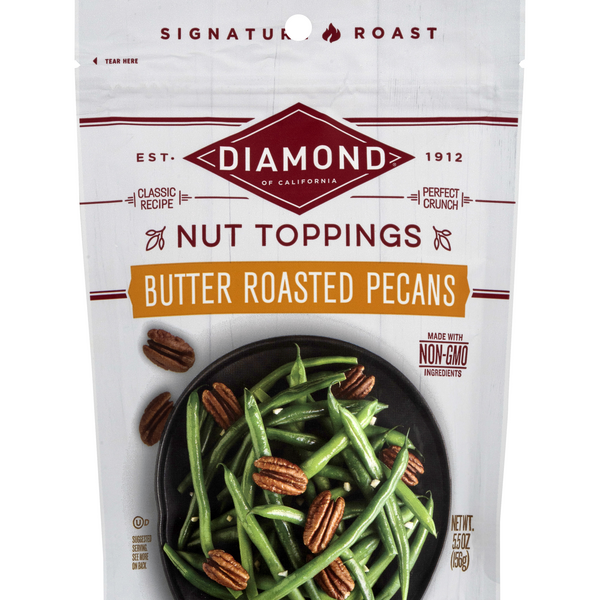 Diamond Signature Roast Butter Roasted Pecans Nut Toppings