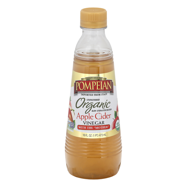 Pompeian Apple Cider Vinegar Organic
