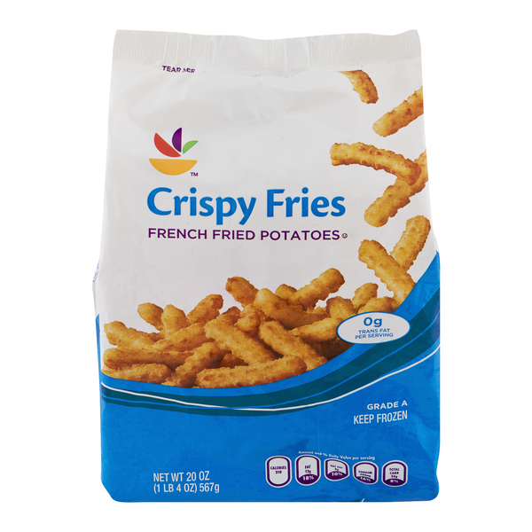 GIANT French Fried Potatoes Crispy Fries