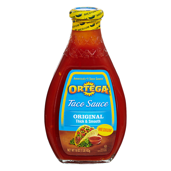 Ortega Taco Sauce Thick & Smooth Medium Original