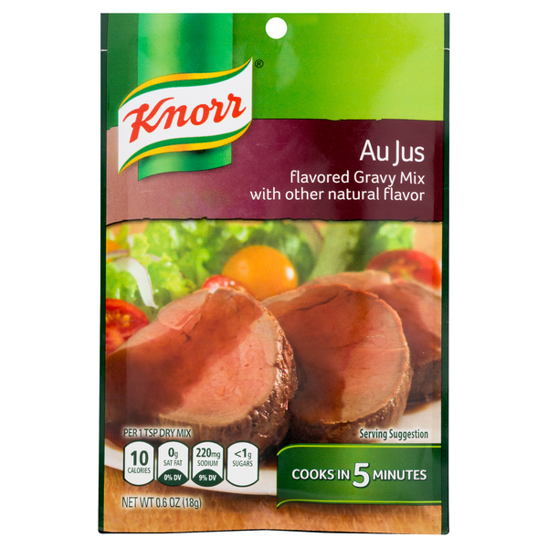 Knorr Gravy Mix Packet Au Jus