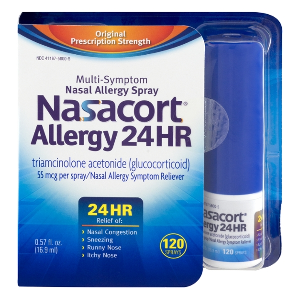 Nasacort Allergy 24HR Multi-Symptom Nasal Spray 120 Sprays