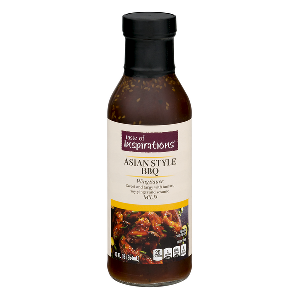 Taste of Inspirations Wing Sauce Asian Style BBQ (Mild)