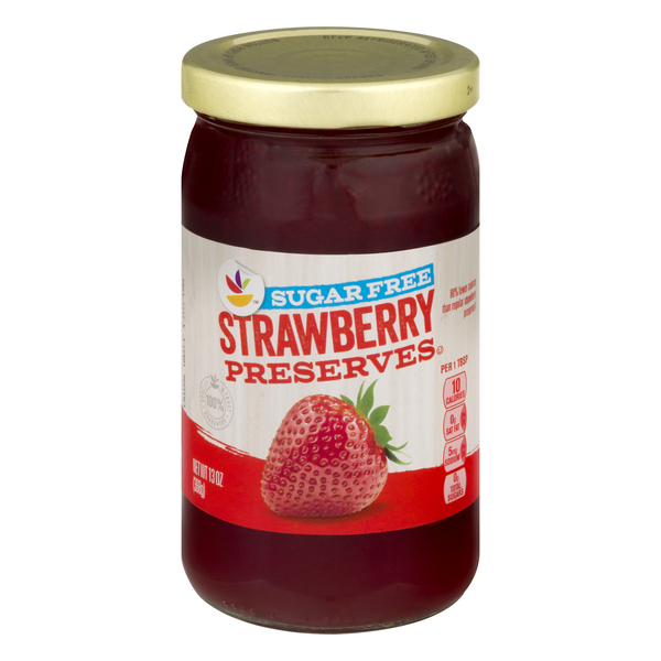 GIANT Strawberry Preserves Sugar Free