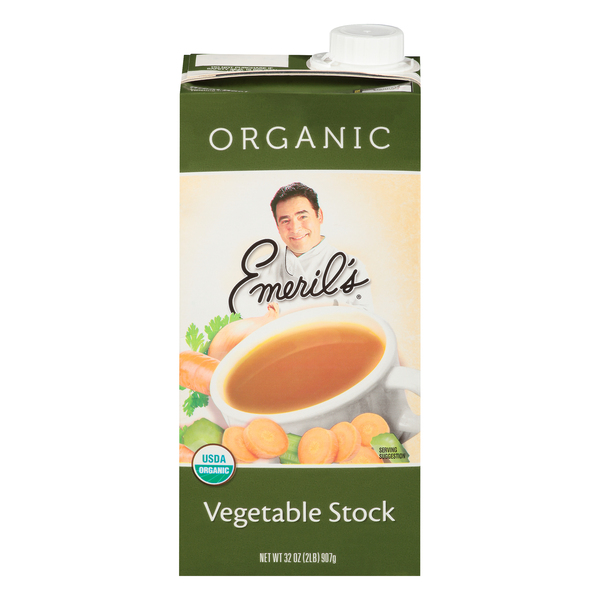 Emeril's Vegetable Stock Organic