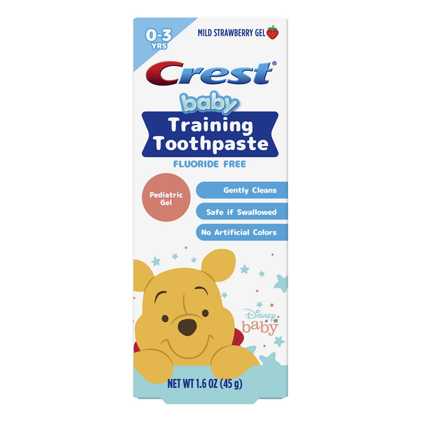 Crest Baby Training Toothpaste Disney Baby Mild Strawberry Gel