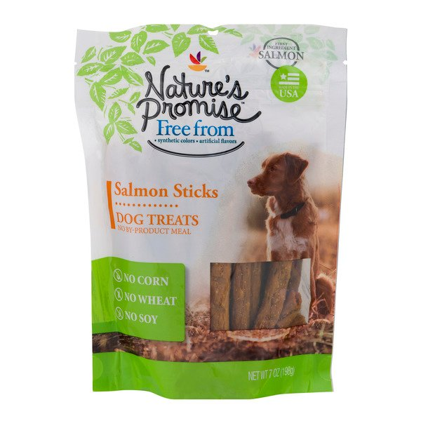 Nature's Promise Dog Treats Salmon Sticks