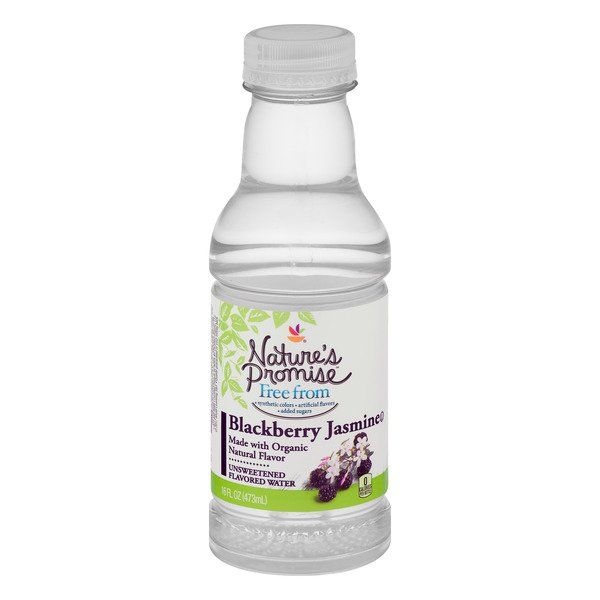 Nature's Promise Free From Flavored Water Blackberry Jasmine