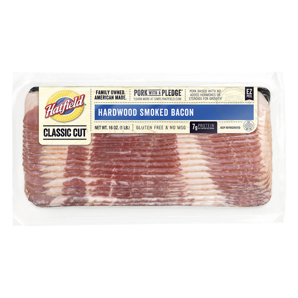 Hatfield Bacon Classic Hardwood Smoked Sliced