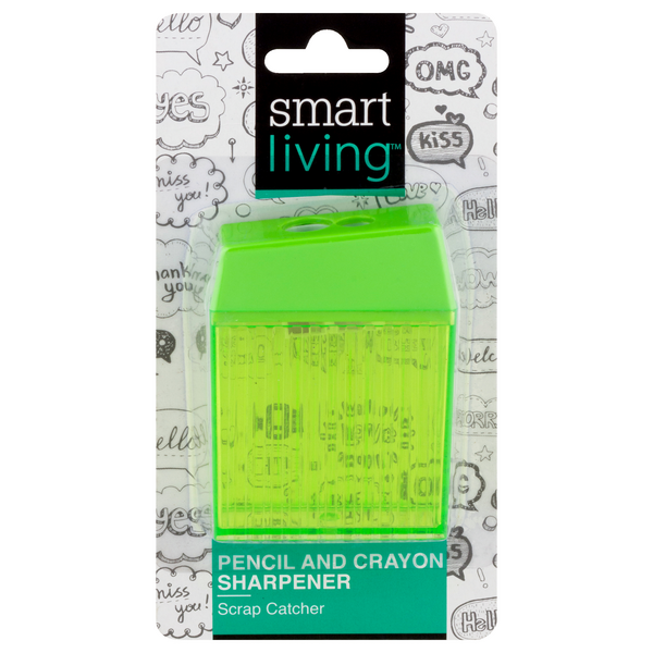 Smart Living Pencil & Crayon Sharpener
