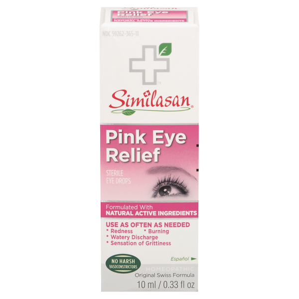 Similasan Irritated Eye Relief Drops Homeopathic