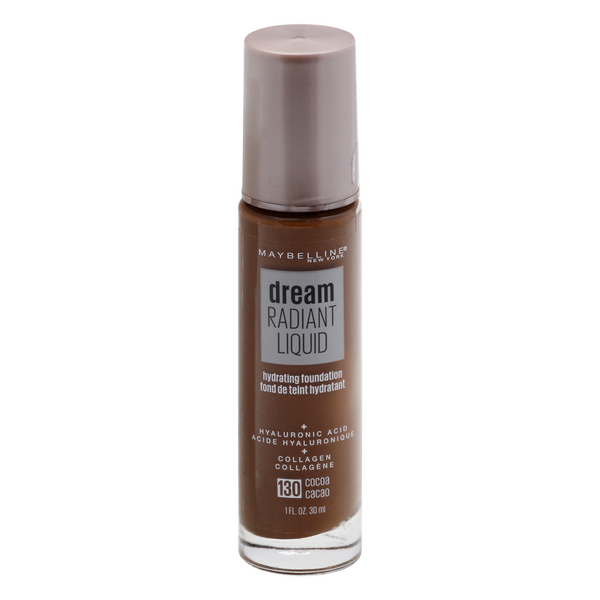 Maybelline Dream Radiant Liquid Hydrating Foundation Cocoa 130