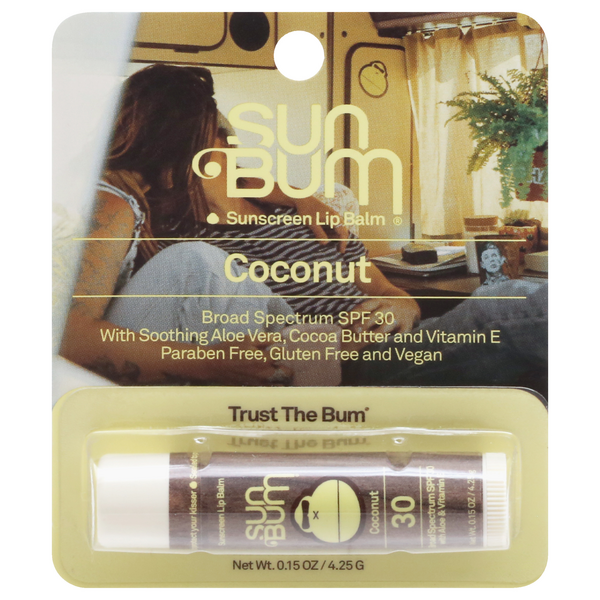 Sun Bum Sunscreen Lip Balm Coconut SPF 30