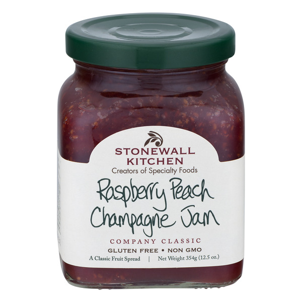 Stonewall Kitchen Jam Raspberry Peach Champagne
