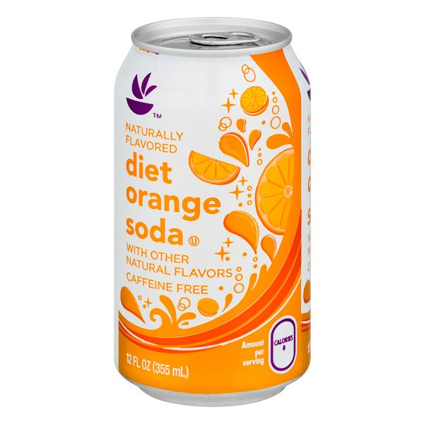 GIANT Orange Soda Diet Caffeine Free