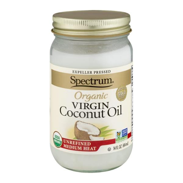 Spectrum Coconut Oil Unrefined for Medium Heat Organic