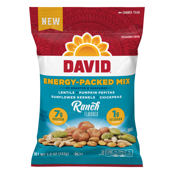 David Energy-Packed Mix of Roasted & Seasoned Ranch