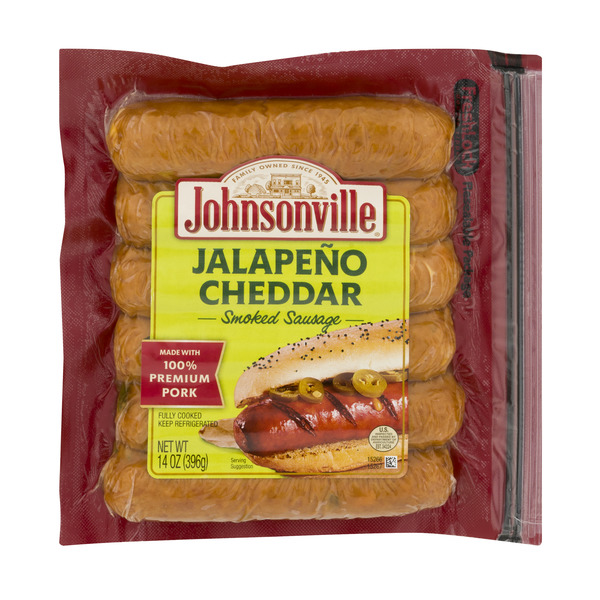 Johnsonville Sausage Jalapeno & Cheddar Smoked - 6 ct