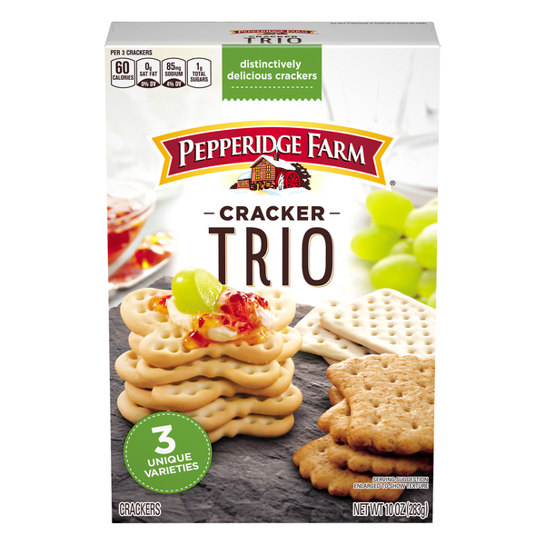 Pepperidge Farm Cracker Trio
