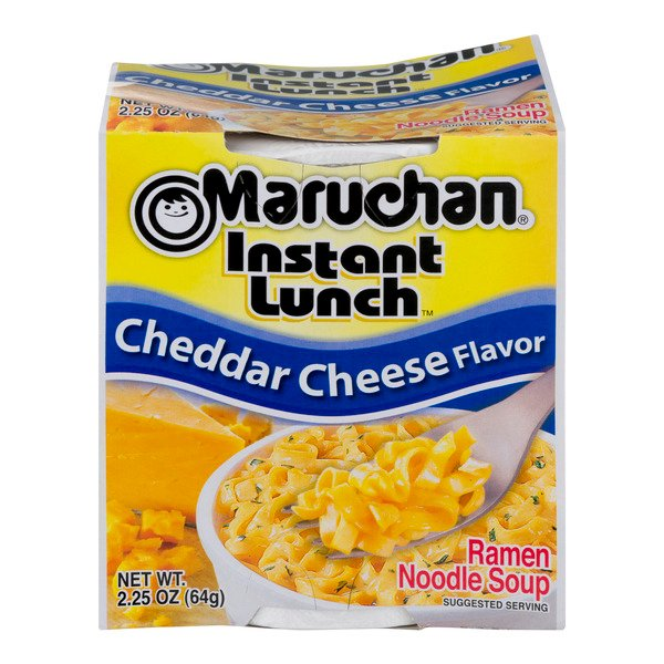 Maruchan Instant Lunch Ramen Noodle Soup Cheddar Cheese Flavor