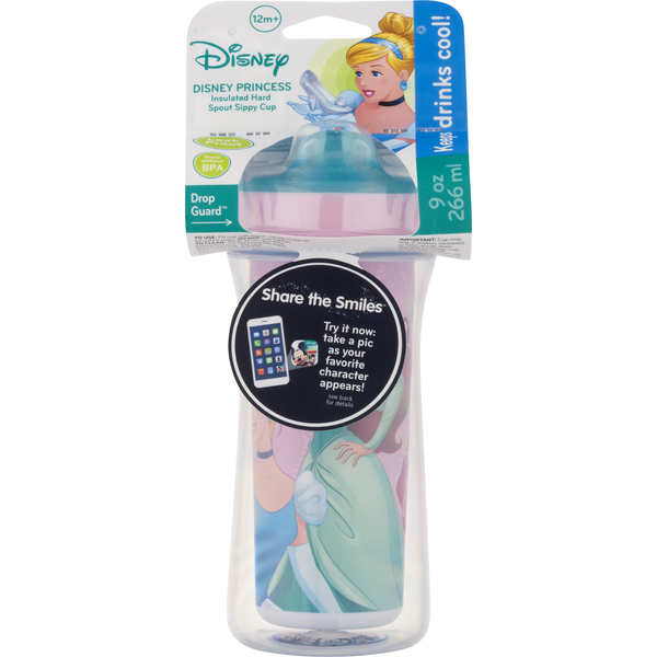 Disney Insulated Hard Spout Sippy Cup Disney Princess 9 oz