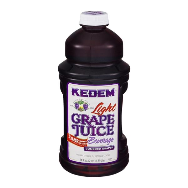 Kedem Concord Grape Juice Beverage Light