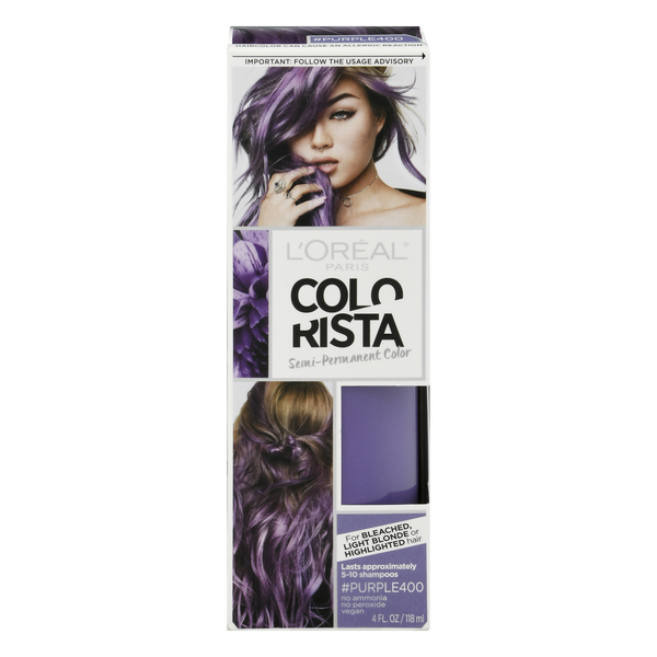 L'Oreal Paris Colorista Semi-Permanent Color #Purple400