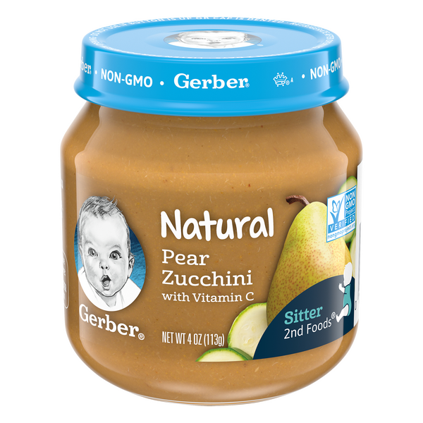 Gerber 2nd Baby Food Pear Zucchini Natural