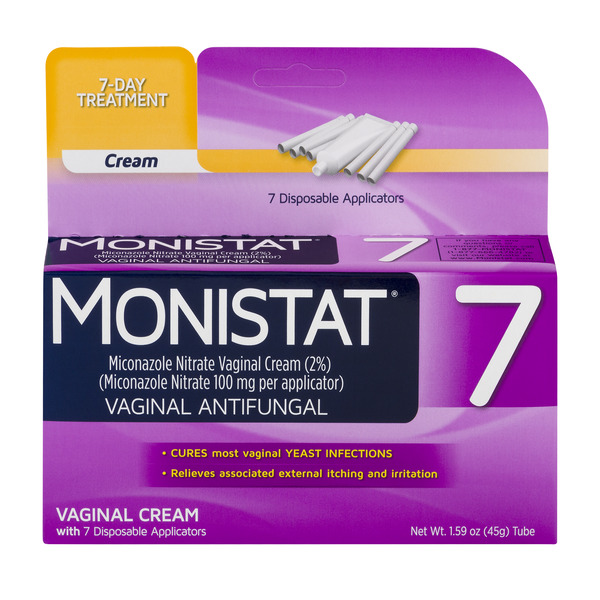 Monistat 7 Vaginal Antifungal 7 Day Treatment Cream Classic