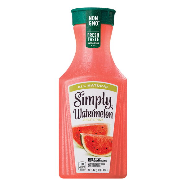 Simply Watermelon Juice Drink Natural